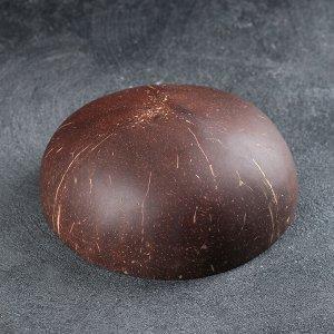 Чаша «Ханой», 13?6 см, из скорлупы кокосового ореха, цвет золотой