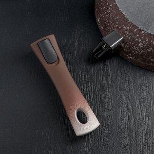 Сковорода Elite Stone, d=28 см, антипригарное покрытие, съёмная ручка
