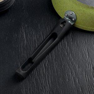 Сковорода Trendy style, d=22 см, со съёмной ручкой, антипригарная линия, цвет лайм