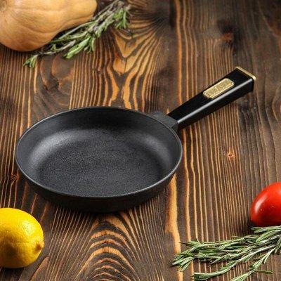Посуда для дома на любой вкус — Сковороды до 20 см Чугунные