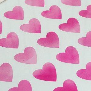 Разделочная доска «Люблю», 20 х 20 см