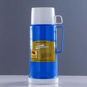 """Термос """"Классик"""" с 1 кружкой и 1 чашкой,  1 л, 13х29 см, микс"""