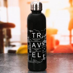 """Бутылка для воды """"Большое путешествие"""", 700 мл"""