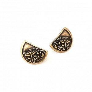 Серьги и кольцо в этно стиле