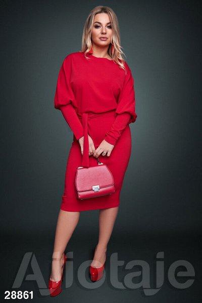 AJIOTAJE-женская одежда 30. До 62 размера — Платья средней длины 48+ (3) — Платья
