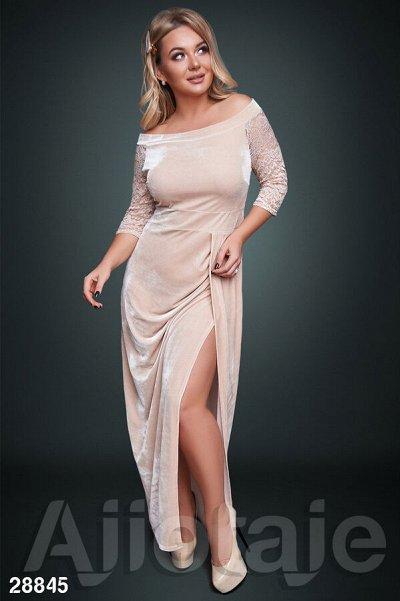 AJIOTAJE-женская одежда 30. До 62 размера — Платья в пол 48+ — Платья