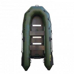 Лодка «Муссон» 2800 СК слань+киль,цвет олива
