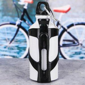 Бутылка для воды «Good bikeм, с велосипедным держателем, 400 мл