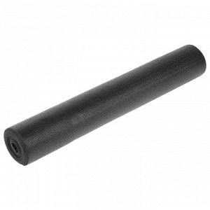 Коврик для йоги 173 х 61 х 0,3 см, цвет чёрный