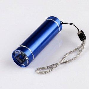 Фонарь ручной, 1 LED, 3 AАА, микс, 8.7х2.4х2.4 см