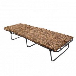 Кровать раскладная с матрасом 5 см, 190?65?26 см, до 80 кг, рисунок МИКС