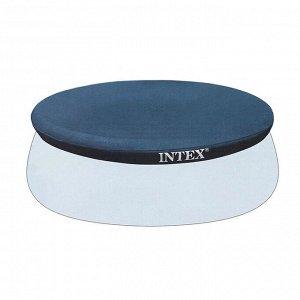 Тент на бассейн Easy Set, d=244 см, 28020 INTEX