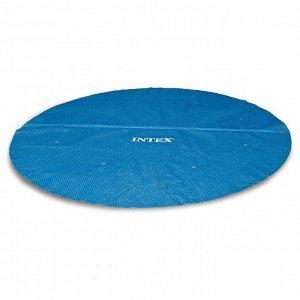 Тент прозрачный для круглого бассейна с надувным бортом d=244 см, 29020 INTEX