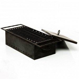 Решётка для жарки, на ящик мангала 30 ? 80 ? 2 см
