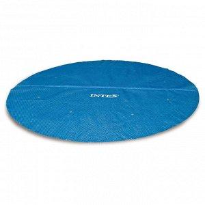 Тент прозрачный для бассейнов d=305 см, 29021 INTEX