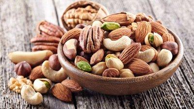 Орехи, сухофрукты, цукаты.  — Орехи и семечки  — Орехи