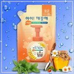 """LION Пенное мыло для рук """"Ai - Kekute"""" Цветочный Мёд, с антибактериальным эффектом, запасной блок, 200мл"""