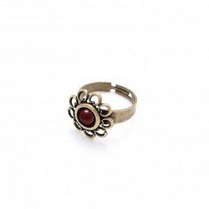 Кольцо Романия Этюд (рубин, бронза) 124028595-8