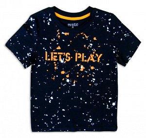 Футболка для мальчика «LET'S PLAY»