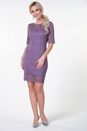 Платье Фрида М №4 .Цвет:сиреневый