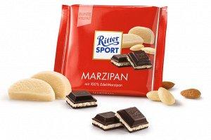 Шоколад Ritter Sport Темный Марципан