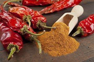Перец красный молотый жгучий, Чили