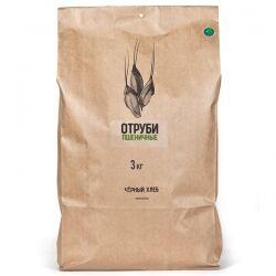 """Отруби пшеничные БИО """"Черный хлеб"""", 3 кг"""