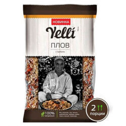 Плов с грибами Yelli, 110 гр