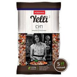 Суп овощной со звездочками Yelli, 80 гр