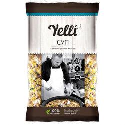 Суп с белыми грибами и пастой Yelli, 100 гр