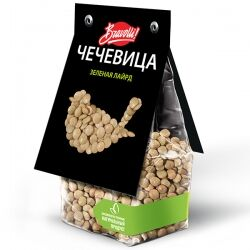 Чечевица зеленая Лайрд Bravolli!, 350 гр