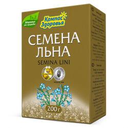 Семена льна, Компас Здоровья, 200 г