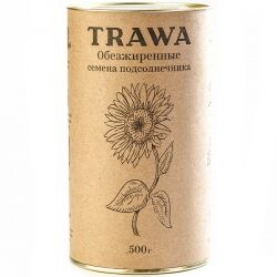 Обезжиренные семена подсолнечника TRAWA, 500 гр
