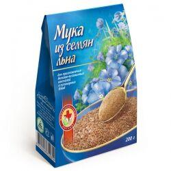 Мука из семян льна, 200 гр