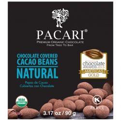 Какао-бобы в органическом шоколаде Pacari, 90 гр