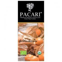 Органический шоколад Pacari с физалисом 60%, 50 гр