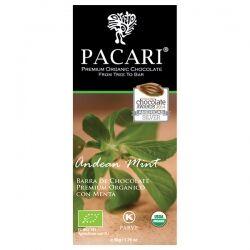 Органический шоколад Pacari с андской мятой 60%, 50 гр