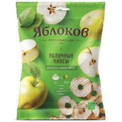 Яблочные чипсы из кисло-сладких яблок Яблоков, 25 гр