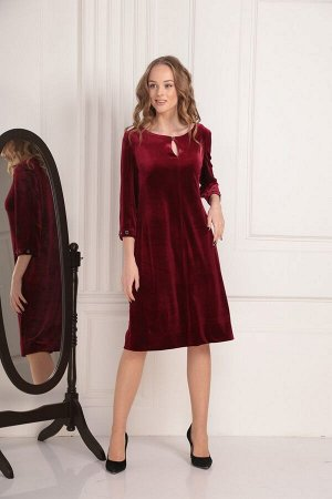 Платье AMORI 9435 вишня