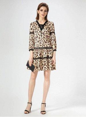 Платье Panda 468180 светло-бежевый