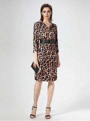 Платье Panda 468880 бежевый