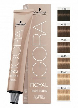 Igora Royal Nude Tones Collection 6-46 60ml