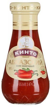 """Соус Кинто перечный """"Абхазский"""", 195 г"""