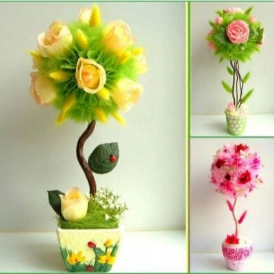 Создаем кукол и декорируем вместе с Magic 4 Hobby  — Флористика — Флористика