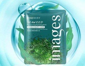 Images SEAWEED Увлажняющая маска- салфетка для лица экстрактом морских водорослей , 25г