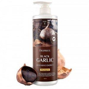 DEOPROCE BLACK GARLIC Шампунь от выпадения волос с экстрактом черного чеснока, 200 мл