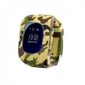 Умные детские часы Smart Baby Watch Q50 Камуфляж