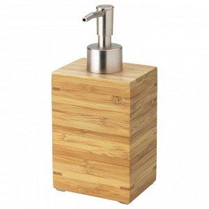 Дозатор для жидкого мыла ДРАГАН, бамбук, 350 мл