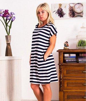 Платье Д427 (полоса)