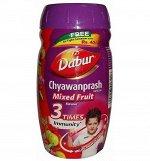 Чаванпраш со вкусом мультифрукт  (Dabur CHYWANPRASH )